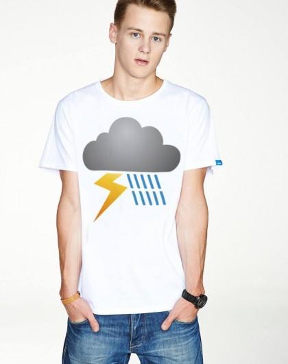 Koszulka męska Rider on the storm
