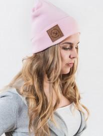 .Różowa czapka Go2hel
