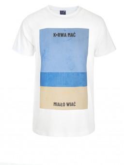 .Koszulka męska Ku*wa mać plaża