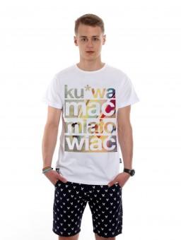Koszulka męska Go2hel Ku*wa mać miało wiać NEW