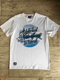 ..Koszulka męska Go2hel Addicted to Wind allergic to work